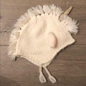 Mudpie Unicorn Knit Hat